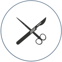 excisional surgery icon